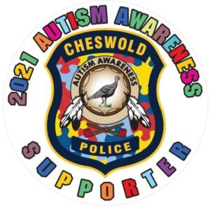 Cheswold PD Kick Off Autism Awareness Month